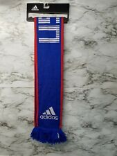 NEW Adidas Team USA Scarf Striped Red White Blue Soccer Olympics World Cup