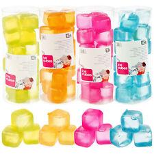 Cubitos de hielo reutilizables 18 unidades en varios colores