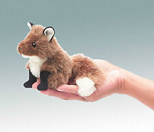 FOX FINGER PUPPET # 2644 ~Free Shipping within USA ~ Folkmanis Puppets