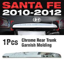Chrome Rear Trunk Garnish Molding B744 Kit For HYUNDAI 2010 2011 2012 Santa Fe