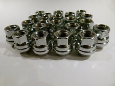 "Holden GTS,HK,HG, HT, HQ to WB 20pcs Open End Chrome Wheel Nuts 7/16""UNF"