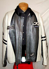 "AVIREX ""CYCLE PRO"" NEW YORK LEATHER Jacket/Coat**5XL**$700***99% NEWBIE"