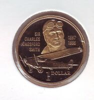 1997 Australia $1 Proof Coin Sir Charles Kingsford Smith  out of a Set