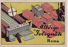 """#ROMA: ALBERGO """"FOLIGNATE"""""""