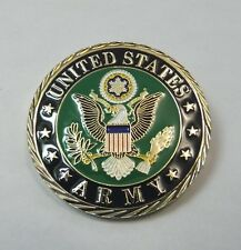 US ARMY PATRIOTIC SERIES CHALLENGE COIN 1.6 INCHES NEW IN CASE