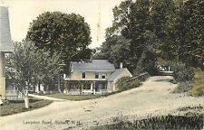 A View of the Homes on Langdon Road, Alstead Nh 1909