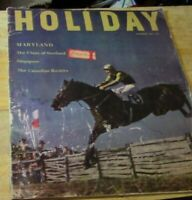 Holiday Magazine: Features Singapore/The Canadian Rockies, Etc, Sept. 1954 Issue