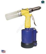 Air Riveter Pneumatic Rivet Gun Handheld Tool Heavy Duty Repair Pop Mechanic NEW