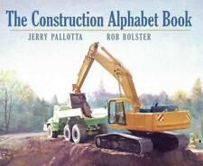 The Construction Alphabet Book by Pallotta, Jerry -Paperback