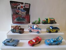Lot 9 Disney Pixar Cars Mater the Greater Mega size Cannonball Lightning McQueen