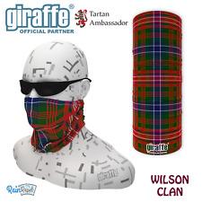 Wilson Clan Scottish Tartan Multifunctional Headwear Bandana tube