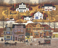 Charles Wysocki  Hawk River Hollow  22/150 CANVAS $650 Value