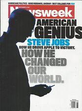 Newsweek magazine Steve Jobs Apple Hurricane politics Gaddafi Best colleges