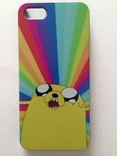 Brand New Iphone 5 or 5S Hard Plastic Adventure Time Jake The Dog Phone Cover
