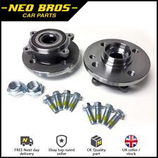 Pair Front Wheel Bearings Inc Bolts for Mini R55 R56 R57 R58 R59