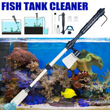 More details for electric aquarium fish tank vacuum cleaner pump gravel sand water change filter