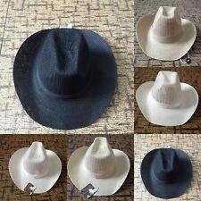 5 Colors Men Boy Summer Casual Travel Cowboy Straw Hat Beach Sun Hat