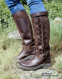 Brogini Winchester Country Boots Brown