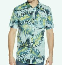 BILLABONG Men's POOLSIDER S/S Button-Up Shirt - LBL - Large - NWT