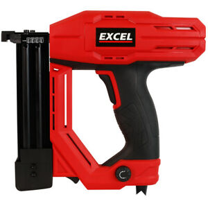Excel 2-in-1 Electric Stapler Nailer Gun 15-32mm 18 Gauge Heavy Duty 230V