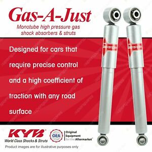 Rear KYB GAS-A-JUST Shock Absorbers for MERCEDES BENZ 639 Vito 46mm Lower Sleeve