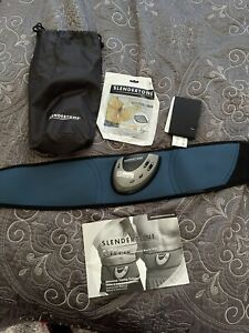 Slendertone Ultra Ab Muscle Belt - Extra Pads, Belt Extender And Manual