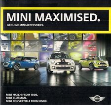 Mini Accessories & John Cooper Works Tuning 2009-10 UK Market Sales Brochure