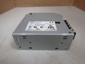 OMRON POWER SUPPLY S82J-01024D S82J01024D INPUT AC100-240V 0.35A 0.35 AMP A