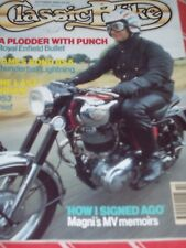 Classic Bike 10/90 Royal Enfield Bullet, MV Memories,Road & Track Yamaha Twins