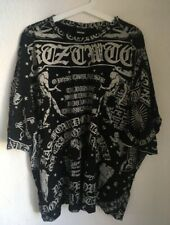 Authentic KTZ Kokon To Zai T-shirt L Unisex Poet Printed Oversized T-Shirt Rare
