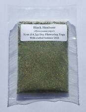 Black Henbane (Hyoscyamus niger) Fresh Dried Flower Herb Powder - 1/2 OZ (14.2g)