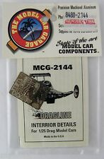 1/25 Scale Interior Details for 1/25 Drag Model Cars (Photo-Etched) - MCG #2144
