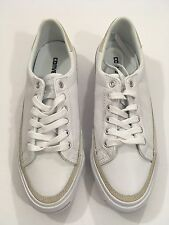Converse Jack Purcell Signature Men's Ox Leather Sneakers,White,10M Retail $140