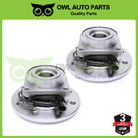 Front Wheel Bearing and Hubs w/ ABS for 1996-1999 Chevy GMC K2500 K3500 Suburban