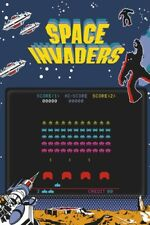 Space Invaders - Arcade Game POSTER 61x91cm NEW classic retro gaming graphic art