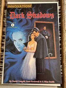 DARK SHADOWS 1 DAVID CAMPITI E SILAS SMITH INNOVATION COMICS 1992 CLASSIC SERIES