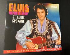 Elvis St. Louis / Spokane 1976 Follow That Dream / FTD Direct From Memphis