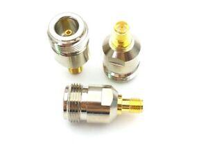 N female socket to RP SMA female socket Adaptor Connector x1    P125