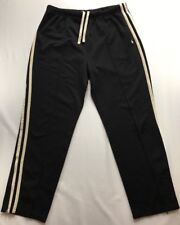 Vintage Polo Sport Ralph Lauren Black Striped Track Pants Size Large