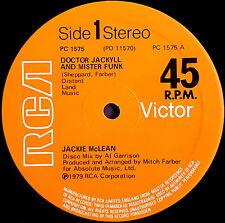 "JACKIE McLEAN - DOCTOR JACKYLL AND MISTER FUNK,  UK,  RCA   12""  '79"
