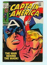 Captain America #114 7.5 VF- John Romita Cover Silver Age Marvel Comic Book