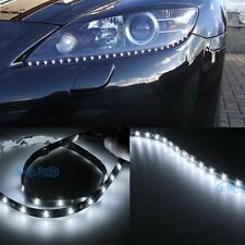 "2Pcs Bright White 30SMD 24"" 60cm LED Side Shine Strip Bulb Fog DRL HeadLight Kj"