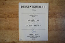 "How Long Has This Been Going On?, George & Ira Gershwin, from Musical ""Rosalie"""