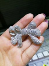 DIY Double Strand Bow Pearl Jewelry Necklace Bracelet Clasp