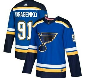 Authentic Adidas NHL St Louis Blues #91 Hockey Jersey New Mens Size 60 $225