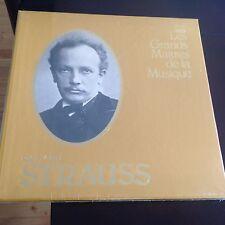 RICHARD STRAUSS LES GRANDES MAITRES DE LA MUSICE TIME LIFE BOX 4 VINYL LP'S