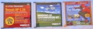 Windows PC Software Bundle (3 x DVD's/CD's) Utility Management & Spider Man Game