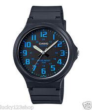MW-240-2B Blue Casio Watches Unisex Water Resist Analog Resin Band Brand-New