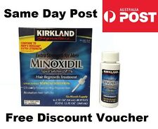 Kirkland Minoxidil 5% 6 MONTH Mens Regain Hair Loss Treatment 12MTH EXP