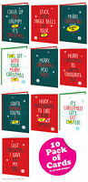 Brainbox Candy funny RUDE offensive Christmas Xmas card multi pack of 10 cheeky